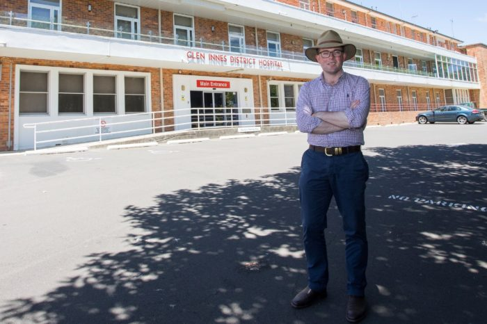 $100 MILLION LOCKED IN FOR MOREE AND GLEN INNES HOSPITALS