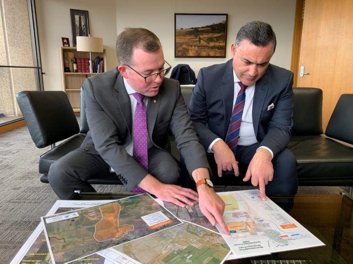 PLANS FOR GROUND-BREAKING MOREE INTERMODEL SITE GAINING STEAM