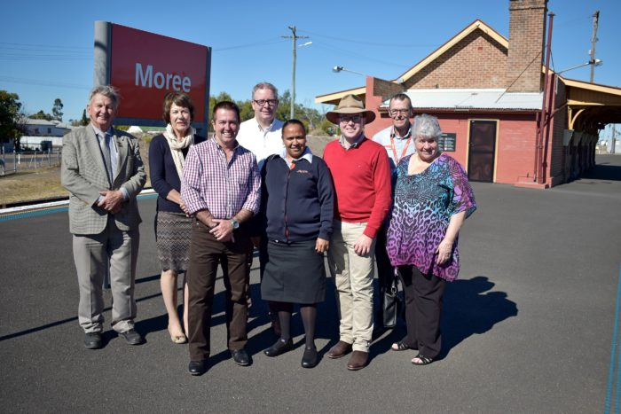 MOREE TRAIN STATION WILL BE STAFFED ONCE AGAIN FROM NEXT WEEK