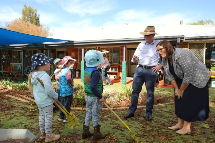 $5.2 MILLION DROUGHT SUPPORT HELPS FAMILIES GET CHILDREN TO PRESCHOOL