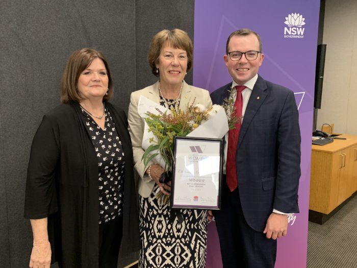 MOREE COUNCILLOR SUE PRICE WINS STATE LOCAL GOVERNMENT AWARD