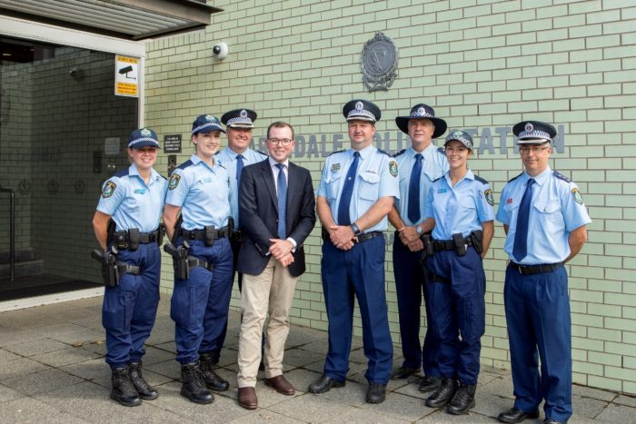 SIX ADDITIONAL POLICE OFFICERS TO JOIN THE NEW ENGLAND BEAT