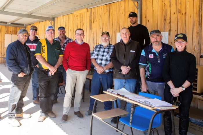 NEW AMENITIES BLOCK ON TARGET AT EMMAVILLE RIFLE RANGE