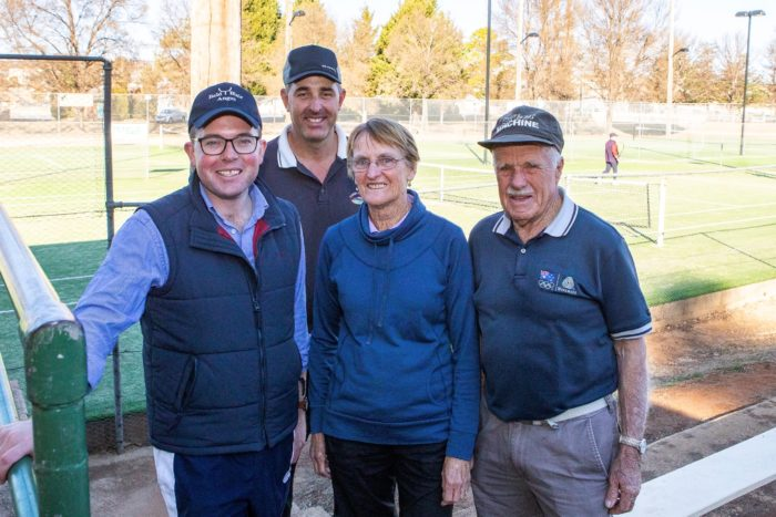 NEW AND UPGRADED TENNIS COURTS AN ACE FOR GLEN INNES