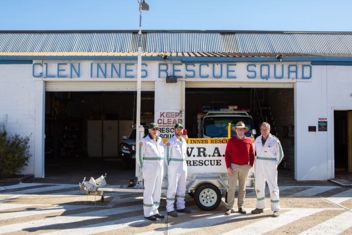 NEW RESCUE TRAILER SHEDS NEW LIGHT ON GLEN INNES VRA SQUAD