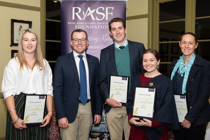 RAS SCHOLARSHIPS SUPPORT THE STUDIES OF FUTURE RURAL LEADERS