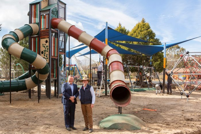 URALLA'S ALMA PARK BECOMING A CHILDREN'S PLAYGROUND PARADISE