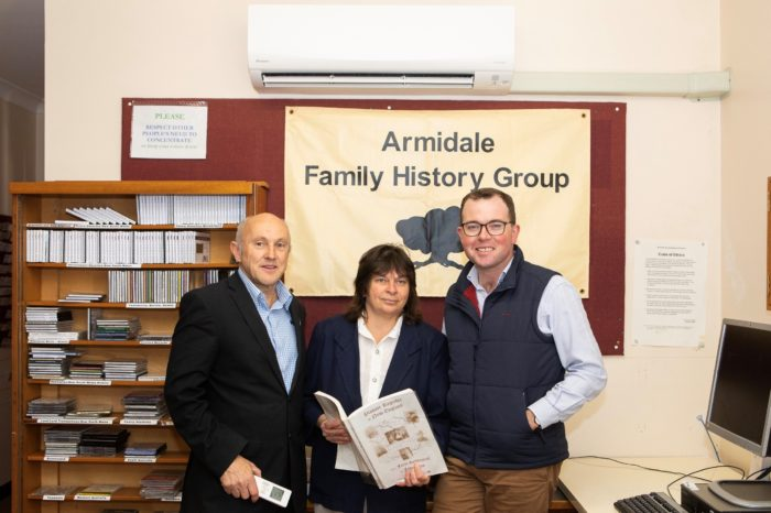 AIR CONDITIONING WARMS UP EFFORT TO PRESERVE ARMIDALE'S HISTORY