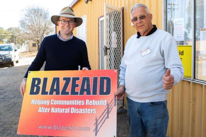 ANOTHER $10,000 IN BLAZEAID SUPPORT TO HELP TINGHA FIRE FARMERS