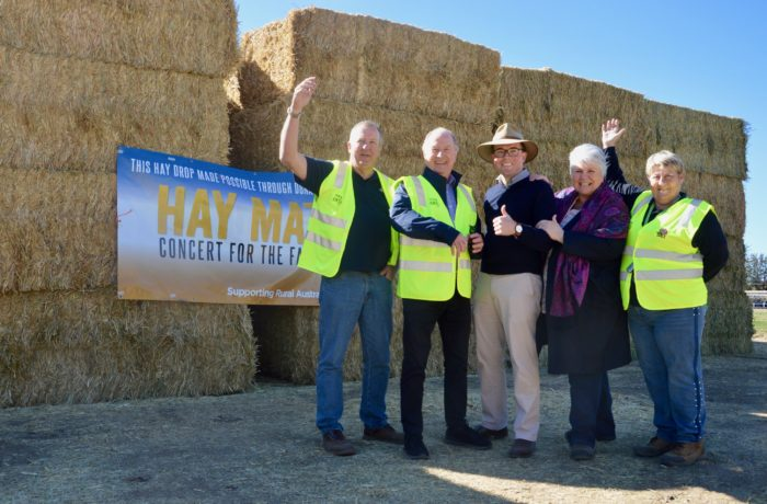 600-BALE HAY CONVOY BRINGS FODDER AND HOPE TO MOREE FARMERS