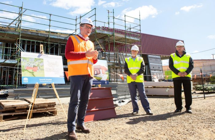CT SCANNER INCLUDED IN THE INVERELL HOSPITAL REDEVELOPMENT
