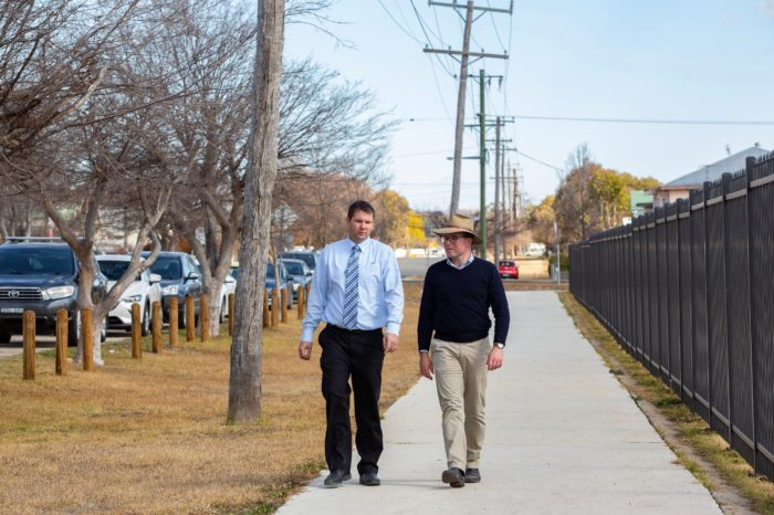 NEW SHARED PATHWAY TO GET PEOPLE MOVING IN INVERELL