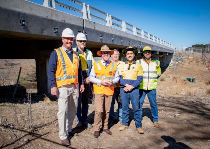 NEW ENGLAND HIGHWAY ARMIDALE TO URALLA SECTION UPGRADE COMPLETE