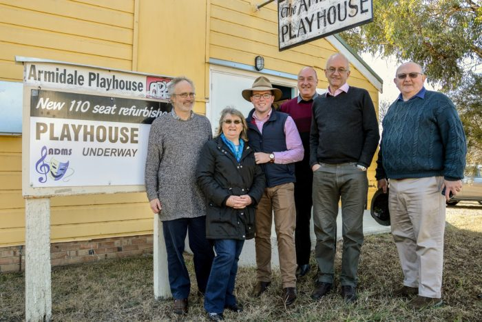 $431,661 BRINGS ARMIDALE PLAYHOUSE THEATRE BACK TO THE STAGE
