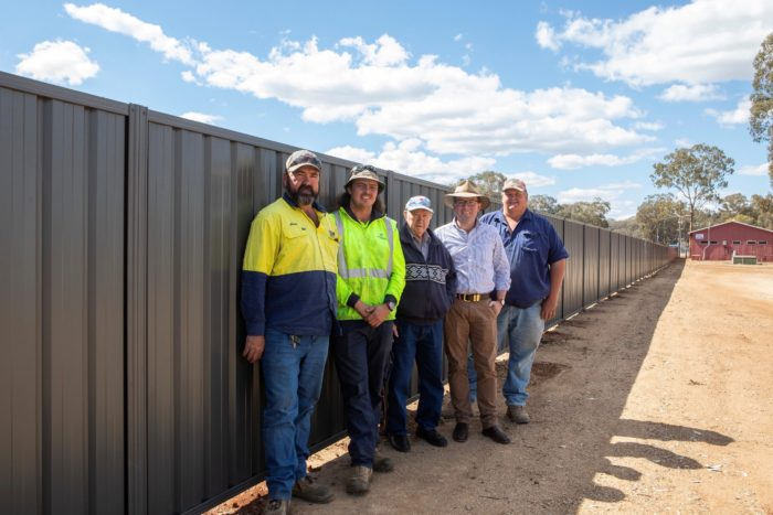 $18,000 SAFETY FENCE COMPLETE AT INVERELL RSM CLAY TARGET CLUB