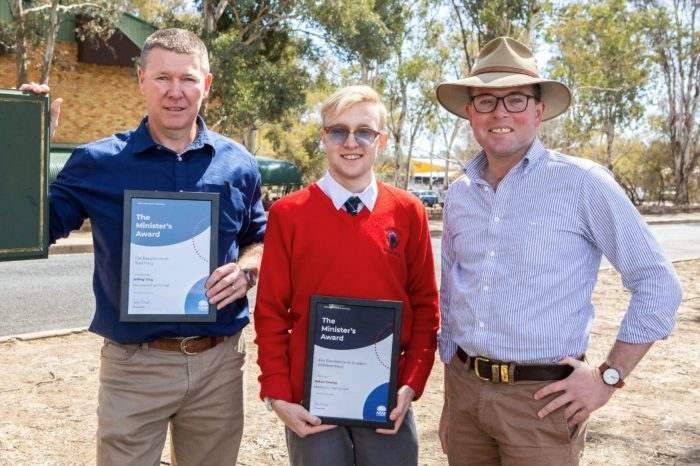 INVERELL STUDENTS & TEACHER RECEIVE STATEWIDE RECOGNITION