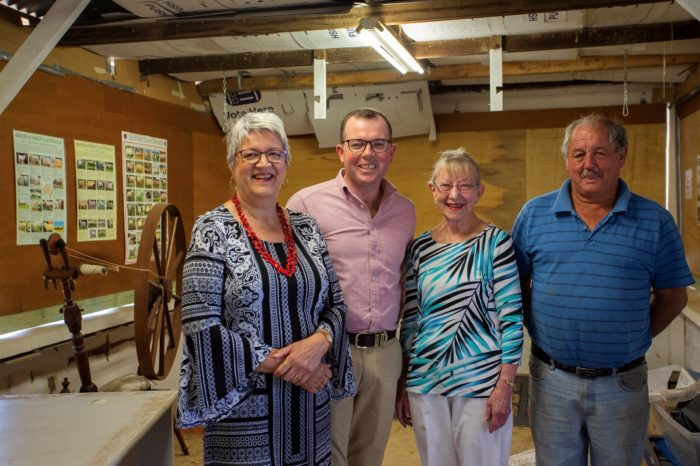 $30,000 PROVIDES PERMANENT HOME TO ARMIDALE SPINNERS AND WEAVERS