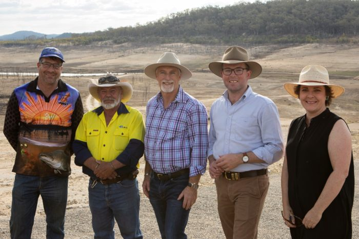 MP DIVES IN TO SECURE $5 MILLION COPETON DAM FORESHORE UPGRADE