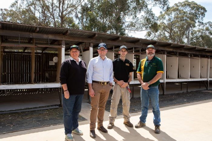 GLEN INNES PISTOL CLUB ON TARGET WITH NEW RETAINING WALL