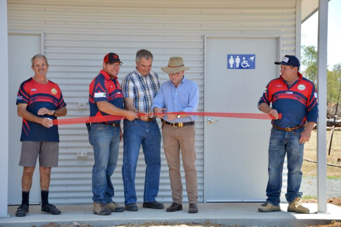 NEW AMENITIES BLOCK ENSURES GUYRA GUN CLUB STAYS ON TARGET