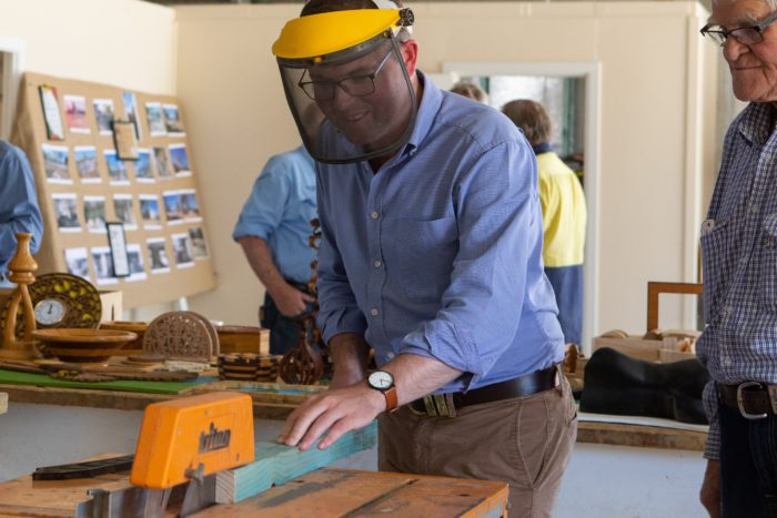 NEW MONSTER MOREE MEN'S SHED OFFICIALLY OPENED