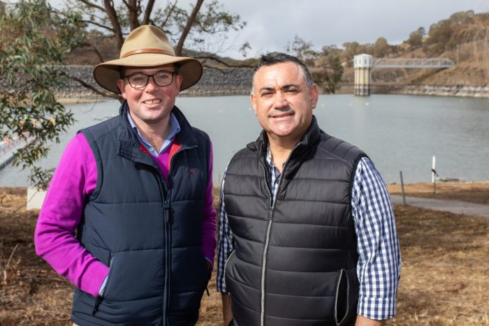 ANOTHER $5.77M DELIVERS EMERGENCY WATER SUPPLY FOR ARMIDALE