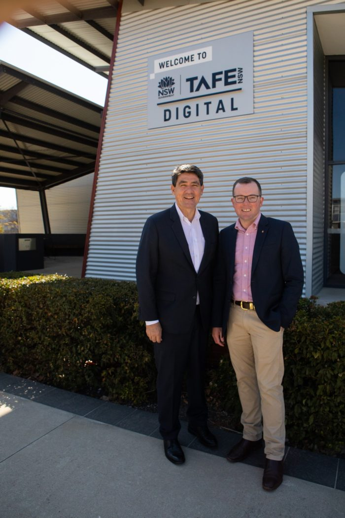 TAFE DIGITAL ARMIDALE UNVEILS STATE-OF-THE-ART FARMBOT