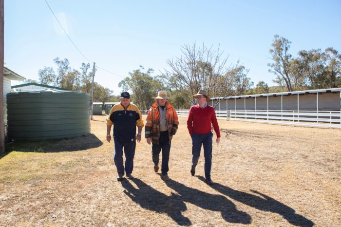 $20,000 DELIVERS NEW BATHROOM FACILITIES AT WARIALDA RACECOURSE