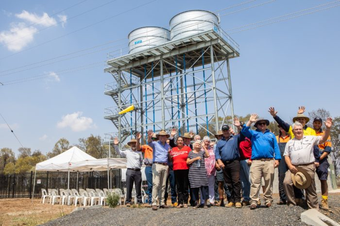 PERMANENT WATER SUPPLY FLOWS INTO BINIGUY FOR CHRISTMAS