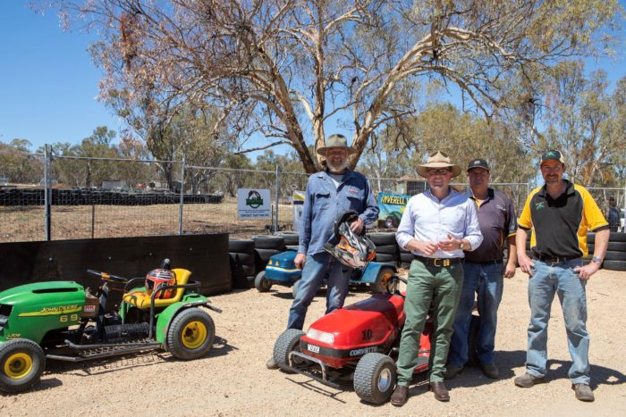 CHEQUERED FLAG IN SIGHT FOR INVERELL MOWER RACING CLUB