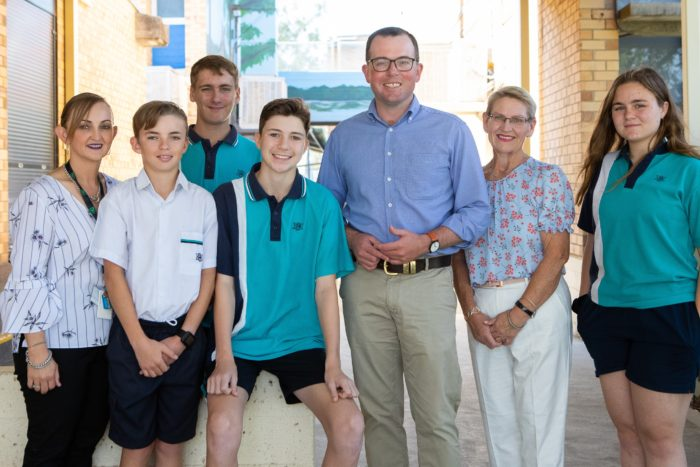NEW SPORTING UNIFORMS ON THE WAY FOR MOREE SECONDARY COLLEGE