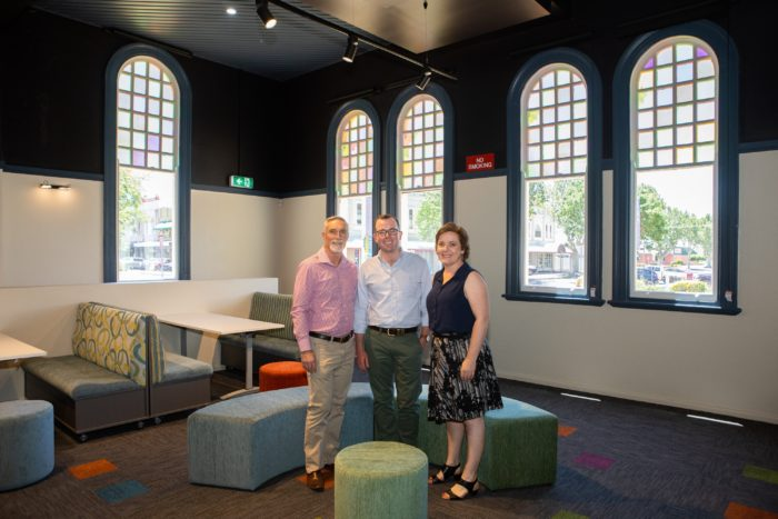 REVAMPED TOWN HALL ANNEX INVERELL'S NEW HEART FOR ART