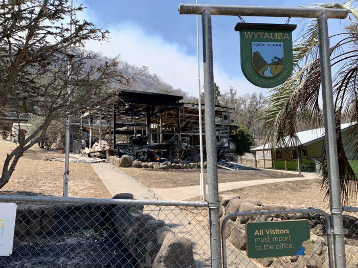 WYTALIBA PUBLIC SCHOOL WILL BE REBUILT: MARSHALL