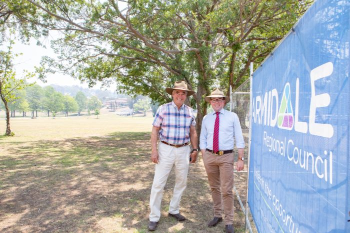 NEW ADVENTURE BEGINS FOR ARMIDALE'S CURTIS PARK PLAYGROUND
