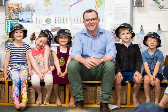 $698,500 DROUGHT SUPPORT FOR REGION'S PRESCHOOLS & LONG DAY CARE CENTRES