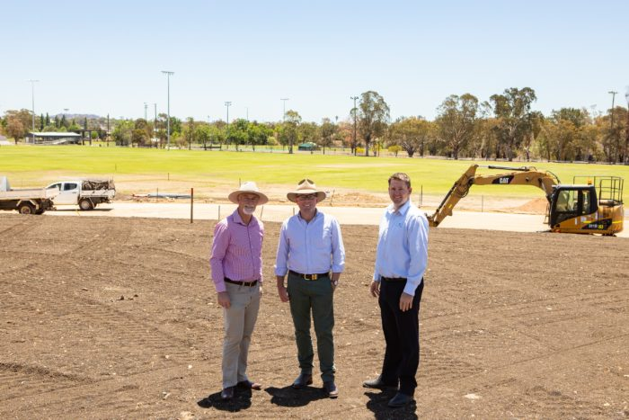 $350,000 INVERELL ATHLETICS PRECINCT SPRINTING TO THE FINISH LINE
