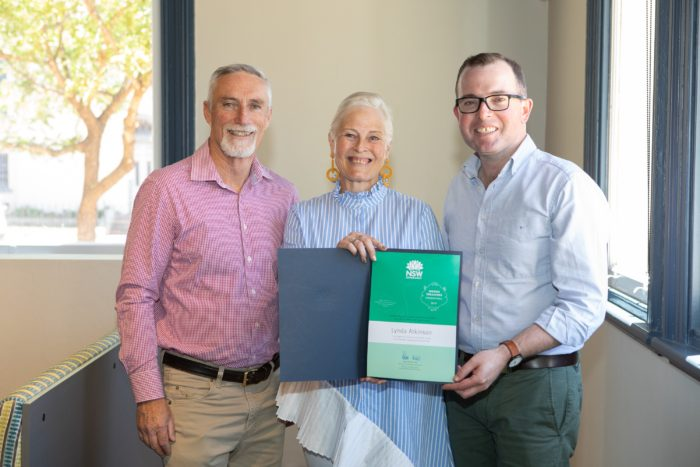DELUNGRA'S LYNDA ATKINSON NAMED A 2019 NSW HIDDEN TREASURE