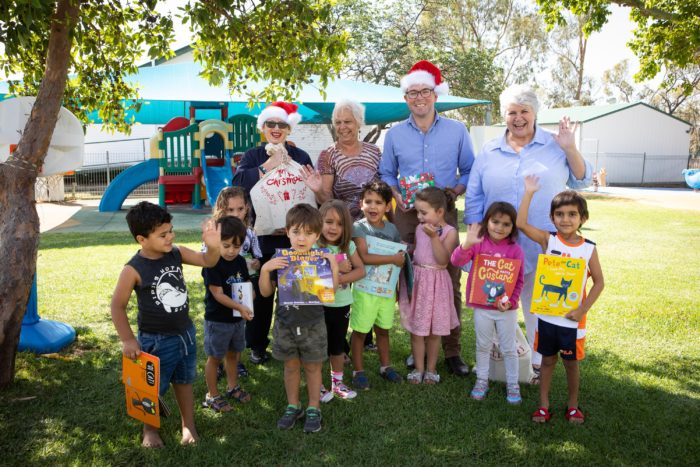 $5,000 DELIVERS THE GIFT OF READING TO MOREE CHILDREN THIS CHRISTMAS