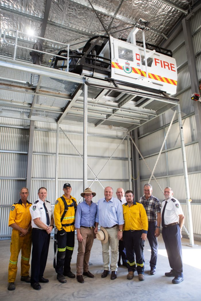 EMERGENCY SERVICE WINCH TRAINING FACILITY OPENED AT ARMIDALE