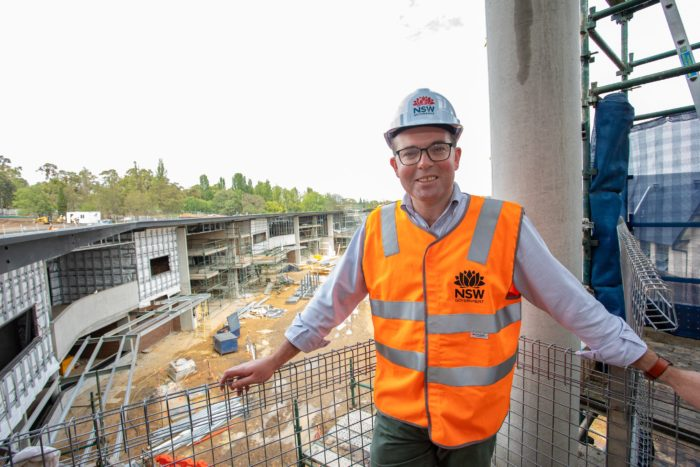 COUNTDOWN BEGINS FOR COMPLETION OF ARMIDALE SECONDARY COLLEGE