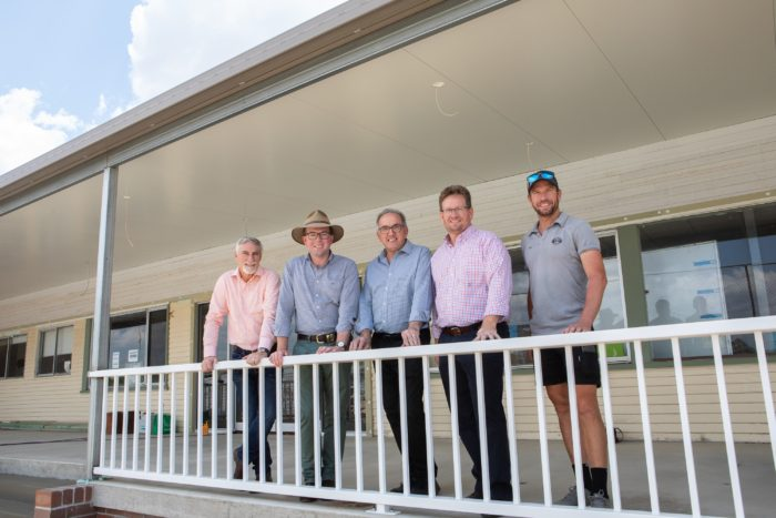 NEW LOOK CLUBHOUSE AN ACE FOR INVERELL TENNIS CLUB
