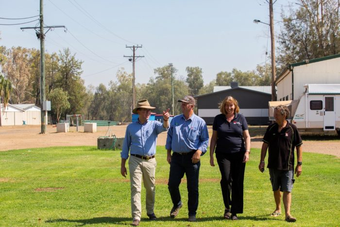 EXTRA SECURITY & ELECTRICITY SUPPLY UPGRADE FOR MOREE SHOWGROUND