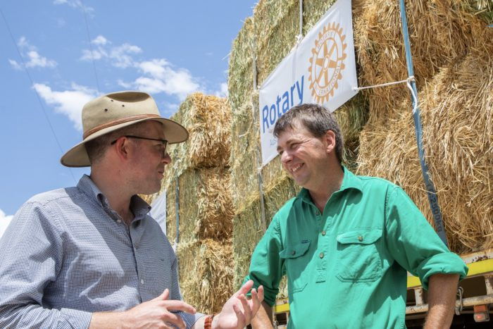$492,500 HELPS DELIVER HAY DONATION TO REGION'S FARMERS
