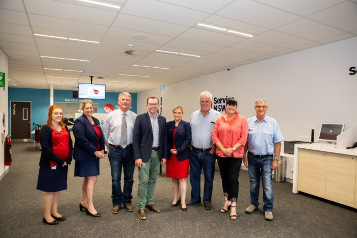 TENTERFIELD'S NEW SERVICE NSW CENTRE BENEFITING LOCALS