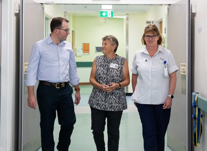 AIR-CONDITIONING IMPROVES PATIENT RECOVERY IN ARMIDALE HOSPITAL