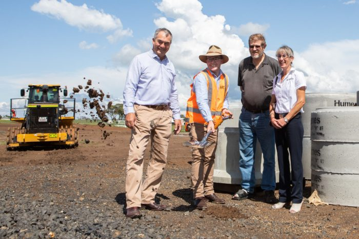 WORK BEGINS ON $6.5M ARMIDALE REGIONAL AIRPORT BUSINESS PARK