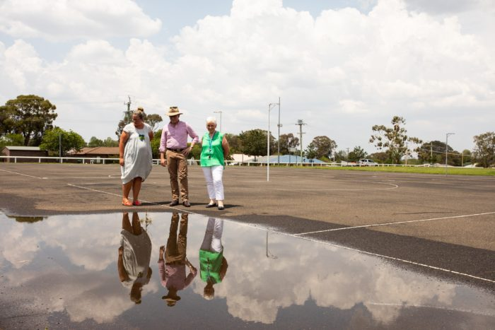 MP AIMS FOR $600,000 OVERHAUL OF LYNCHES ROAD NETBALL COMPLEX