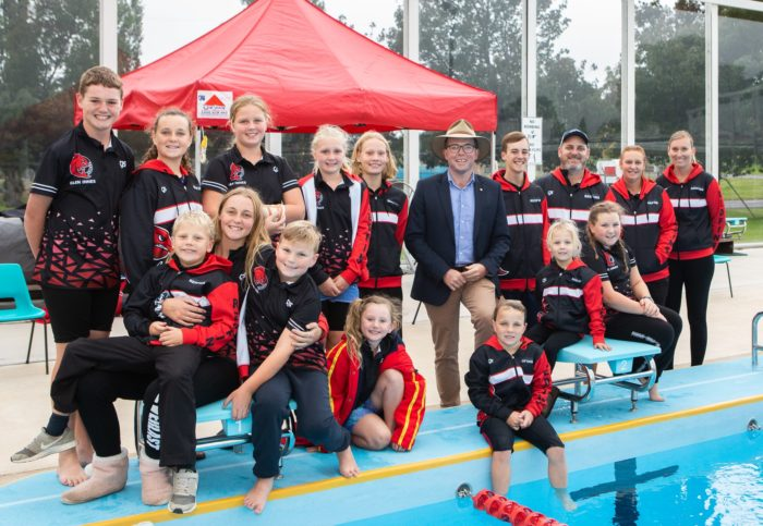 $64,187 LANDS NEW SHADE SAIL FOR GLEN INNES REDFINS SWIMMING CLUB