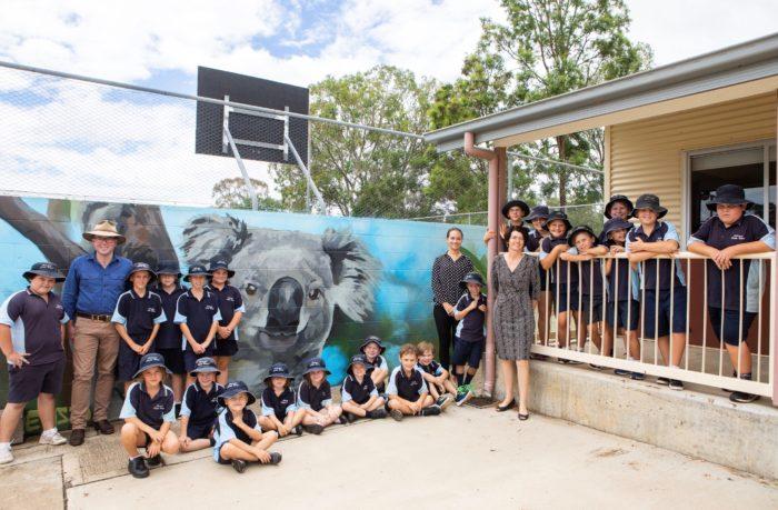 $14,522 PUTS DELUNGRA PUBLIC SCHOOL ON KOALA PATROL