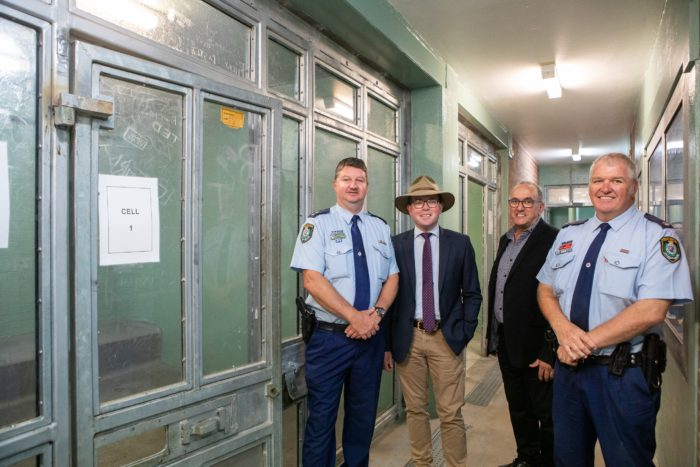 HISTORIC DAY FOR INVERELL POLICE: DEMOLITION OF STATION UNDERWAY
